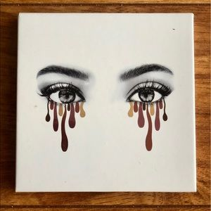 Kylie Cosmetics Burgundy Eyeshadow Palette